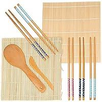 9 Pc Kit para Hacer Sushi de Bambú