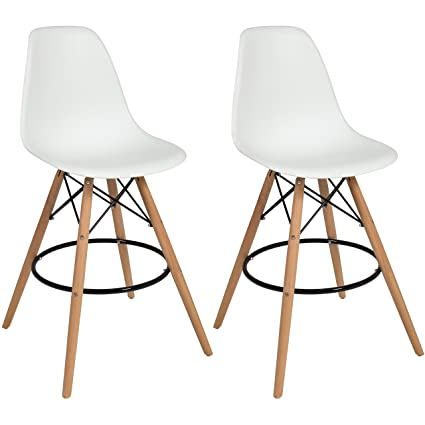 amazon com best choice products set of 2 mid century modern eames