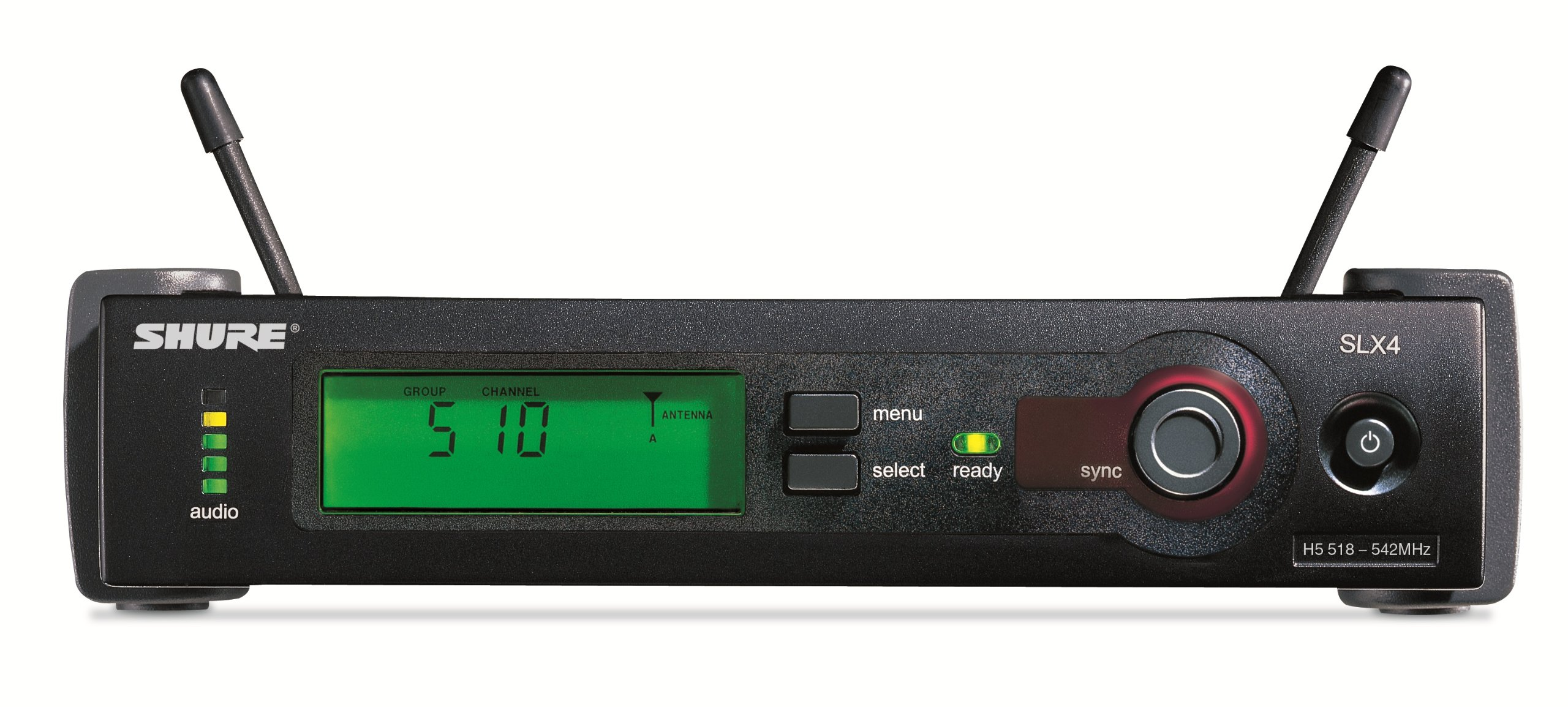 Shure SLX4 Wireless Receiver, H5 by Shure