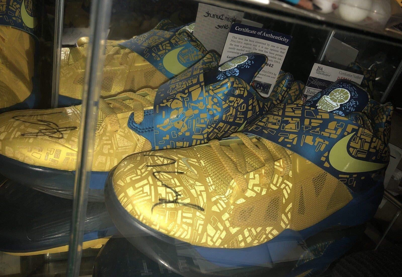 Kevin Durant Auto Scoring Title Kd 4 Pe PSA/DNA JSA Coa'S Autographed Autographed Signed Shoes