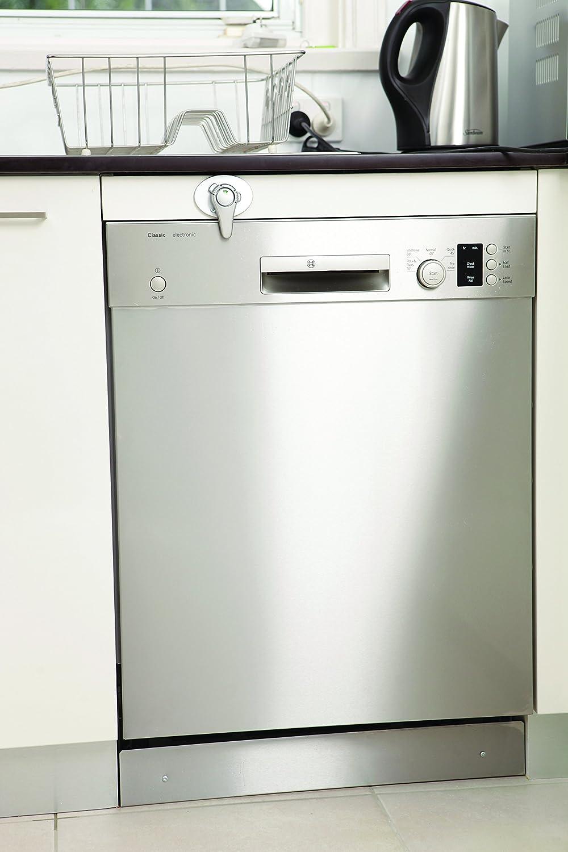 2 unidades Dreambaby F1104 color plateado Bloqueo infantil para horno