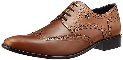 c8e3d33e8 Louis Philippe Men's Derby Leather Formal Shoes