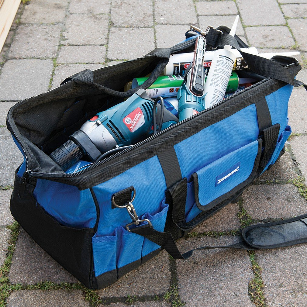 Silverline 263598 Werkzeugtasche mit verst/ärktem Boden 600 x 280 x 260 mm