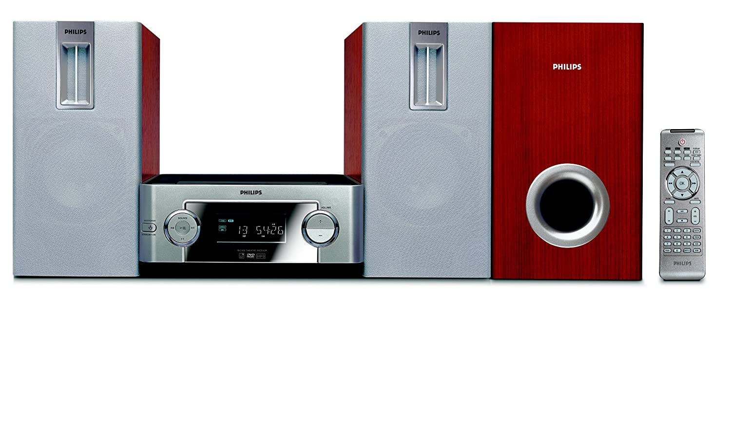 Amazon.com: Philips MCD139/37 Micro DVD Home Theater System ...
