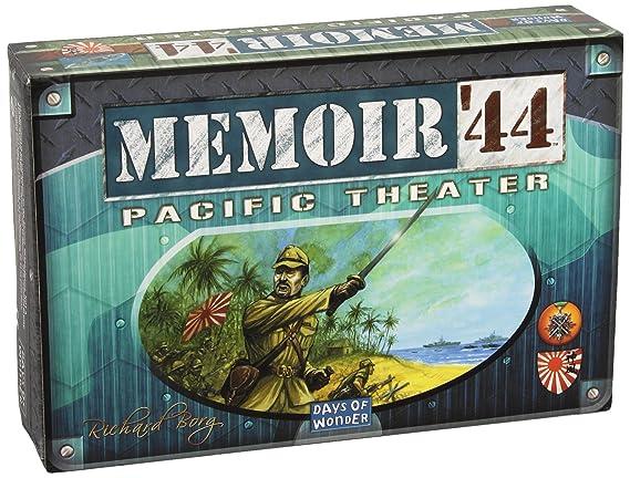 Days of Wonder Asmodee 200328 Memoire 44 Pazific Theater - Juego de rol (contenido en alemán): Amazon.es: Juguetes y juegos