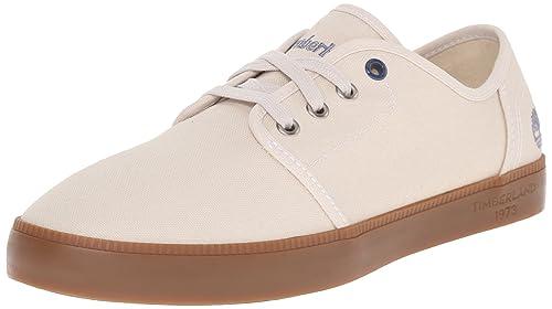 8571e9c65 Timberland Men's Newport Bay Canvas Fashion Sneaker, Birch Washed, 7 ...