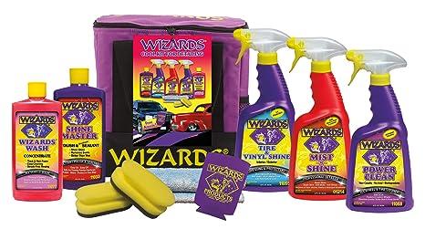 Amazon com: Wizards Kits (Detailing Kit (7 pc)): Automotive