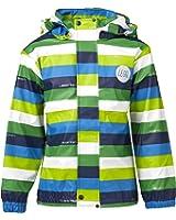 Legowear Boys Johannes 203 Rain Striped Raincoat