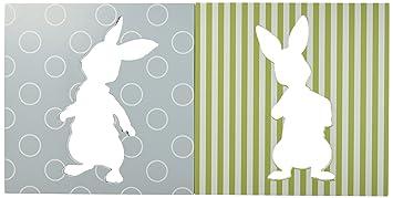 Amazon.com : Lambs & Ivy Peter Rabbit Wall Decor : Baby