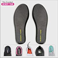 Memory-Foam Insoles Shoe-Inserts Foot-Pads Inner-Soles Sole-Replacement - Arch Support Breathable Plantar Fasciitis…