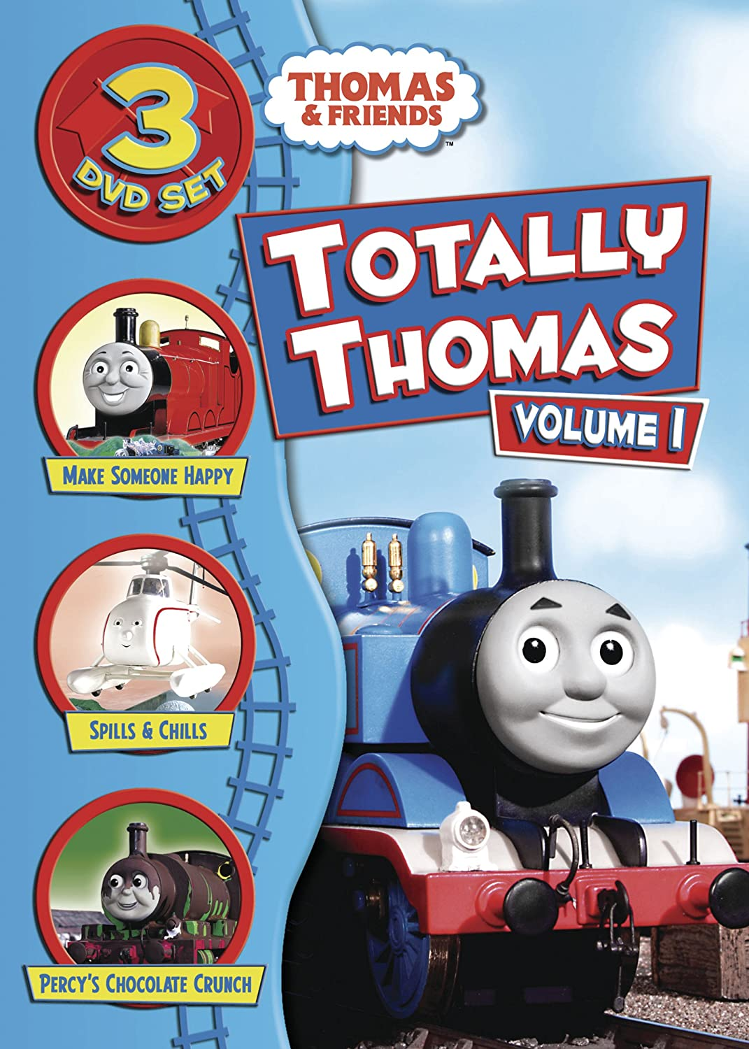 Amazon.com: Tho-totally Thomas Vol1 Sacdvd: Thomas & Friends ...