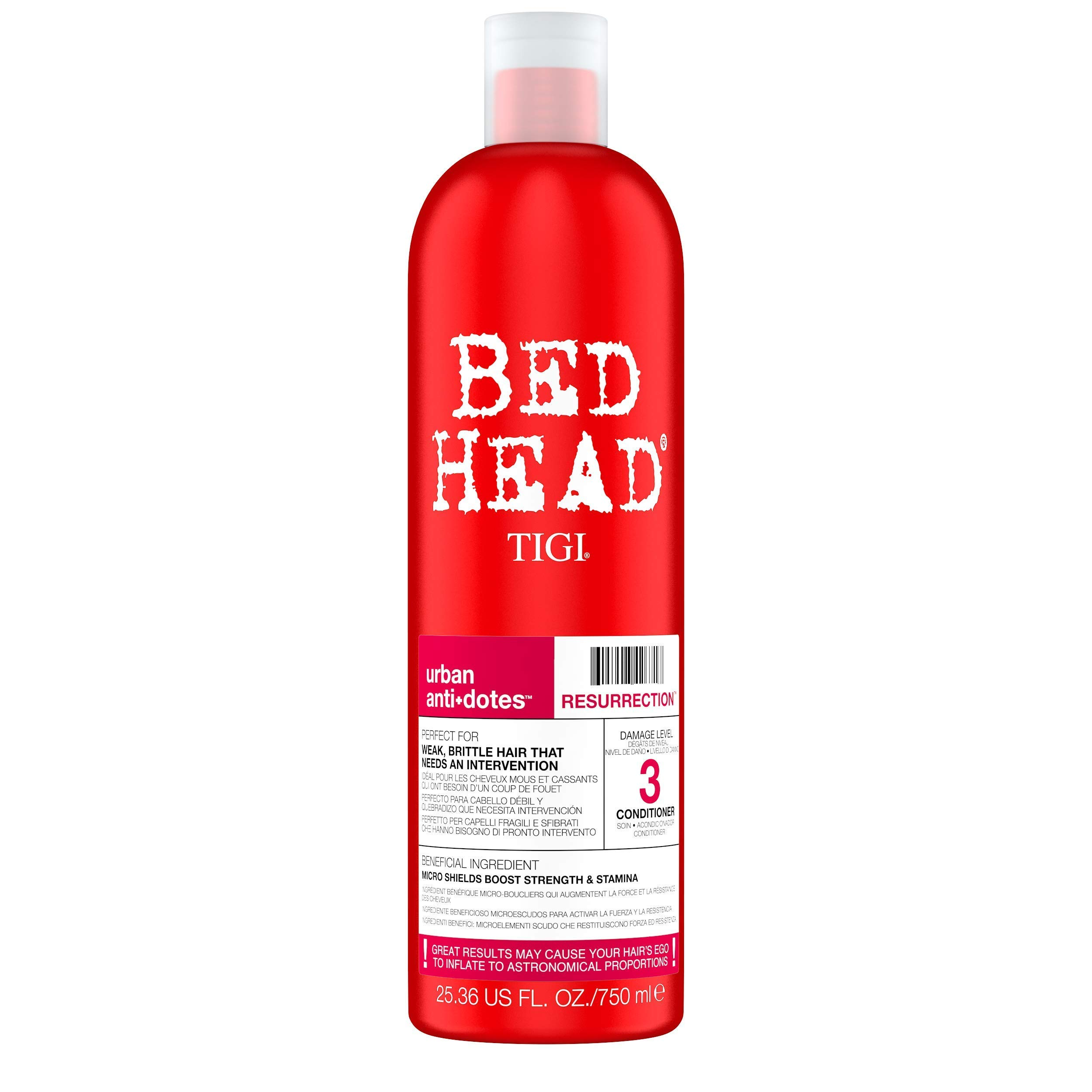 Bed Head by Tigi Urban Antidotes Resurrection Conditioner for Damaged Hair 750 ml