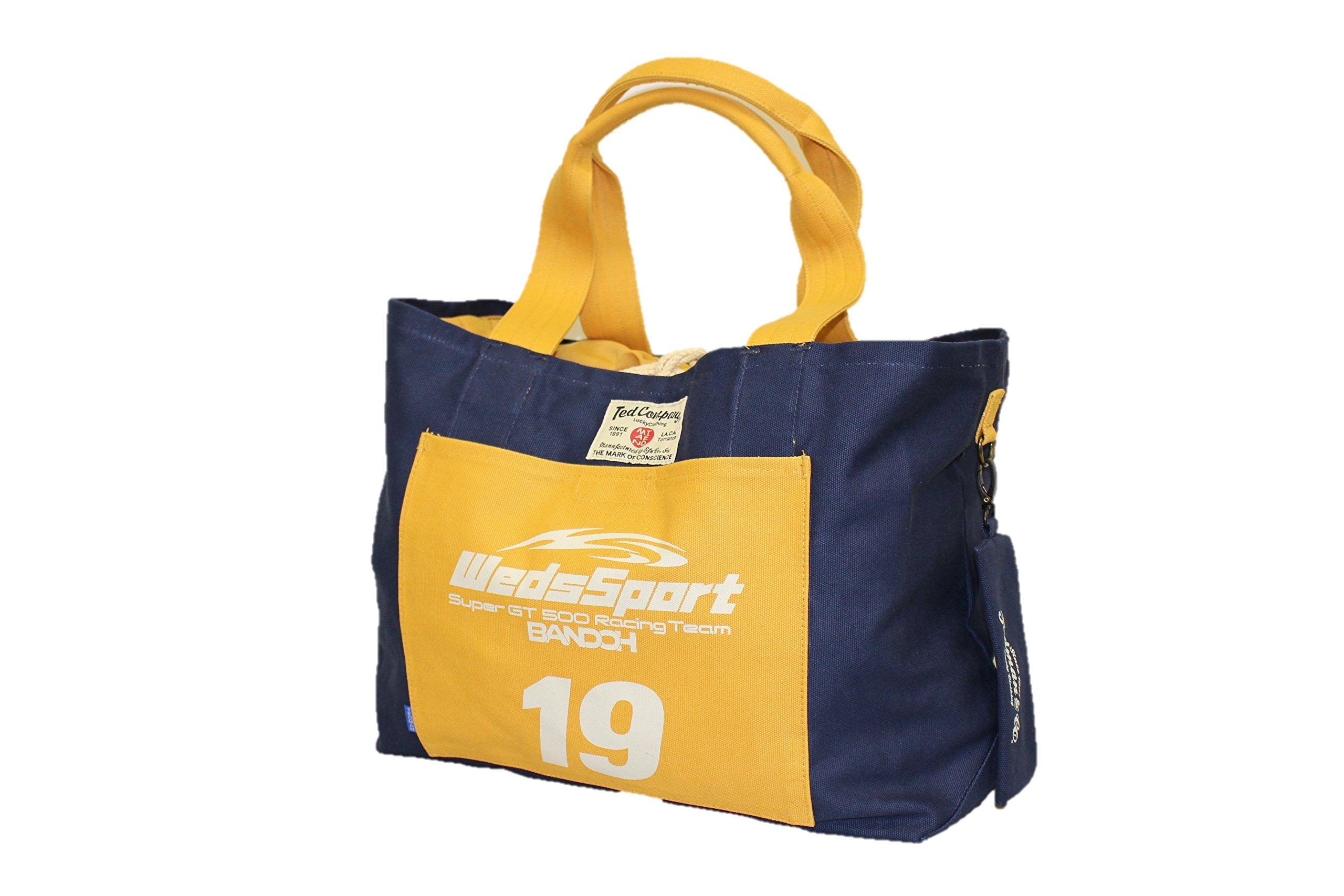 WedsSport (Weds Sport) Bakuso Bando sets TEDMAN (Ted Mann) collaboration tote bag size: W: 44 ~ 56 × H: 33 × D: 18cm 00TDBG-700WS by WedsSport