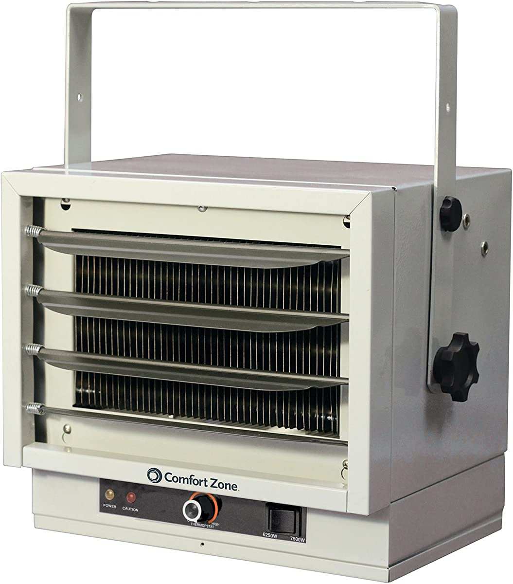 Heavy-duty electric garage heater 240v