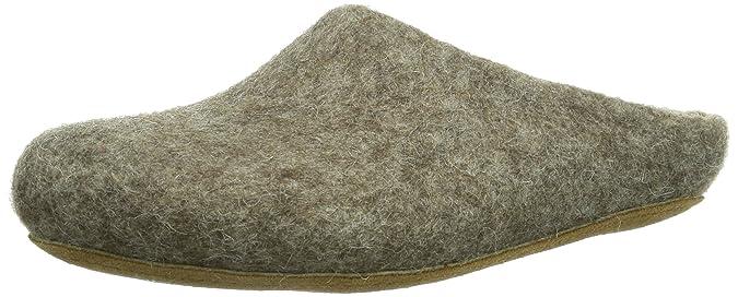 MagicFelt AR 713, Unisex-Erwachsene Pantoffeln, Braun (Shetlandschaf 4856), 37 EU (4 Erwachsene UK)