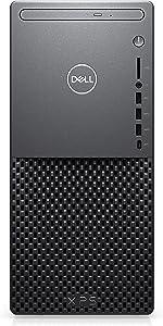 Dell XPS 8940 Desktop - Intel Core i7-10700, 8GB 2933MHz RAM, 1TB HDD HD, Intel UHD Graphics 630 Graphics, Windows 10 Home - Black,