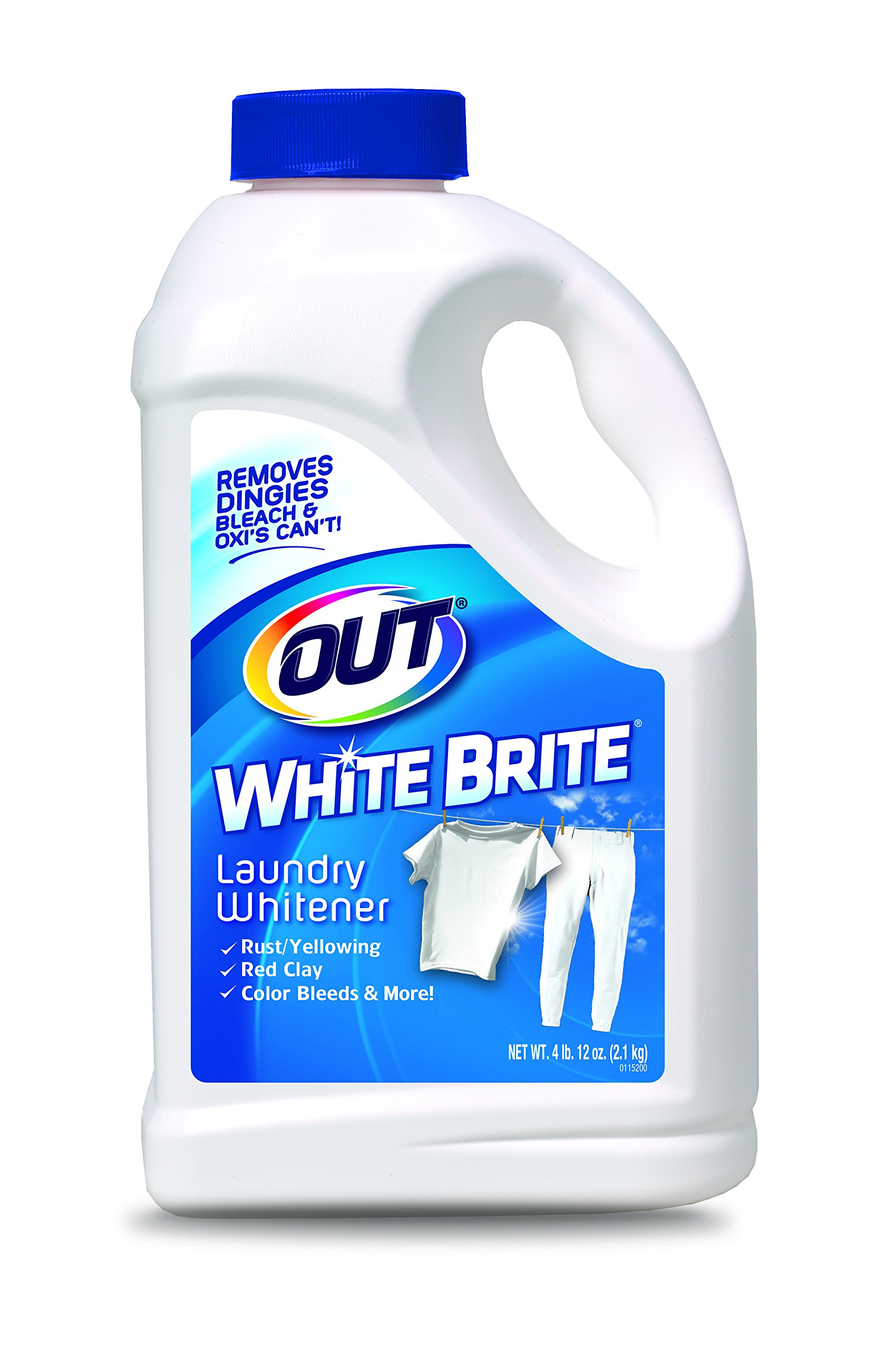 OUT White Brite Laundry Whitener, 4 lb. 12 oz. Bottle by Summit Brands