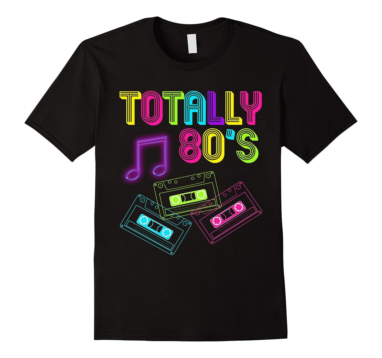 Totally 80's Neon Music 1980's - 80s Music Shirt-T-Shirt