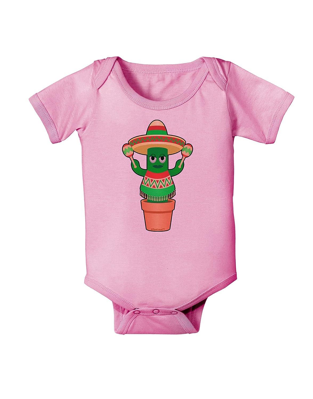 TooLoud Fiesta Cactus Poncho Baby Romper Bodysuit
