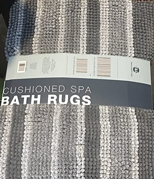 Town And Country  Piece Cushioned Spa Bath Rugs