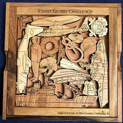 Amazon.com: Desafío Puzzle de Guardacostas USCG: Toys & Games