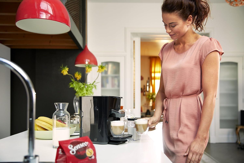 Philips Senseo HD6570/60 Kaffeepadmaschine mit Milchaufschäumer