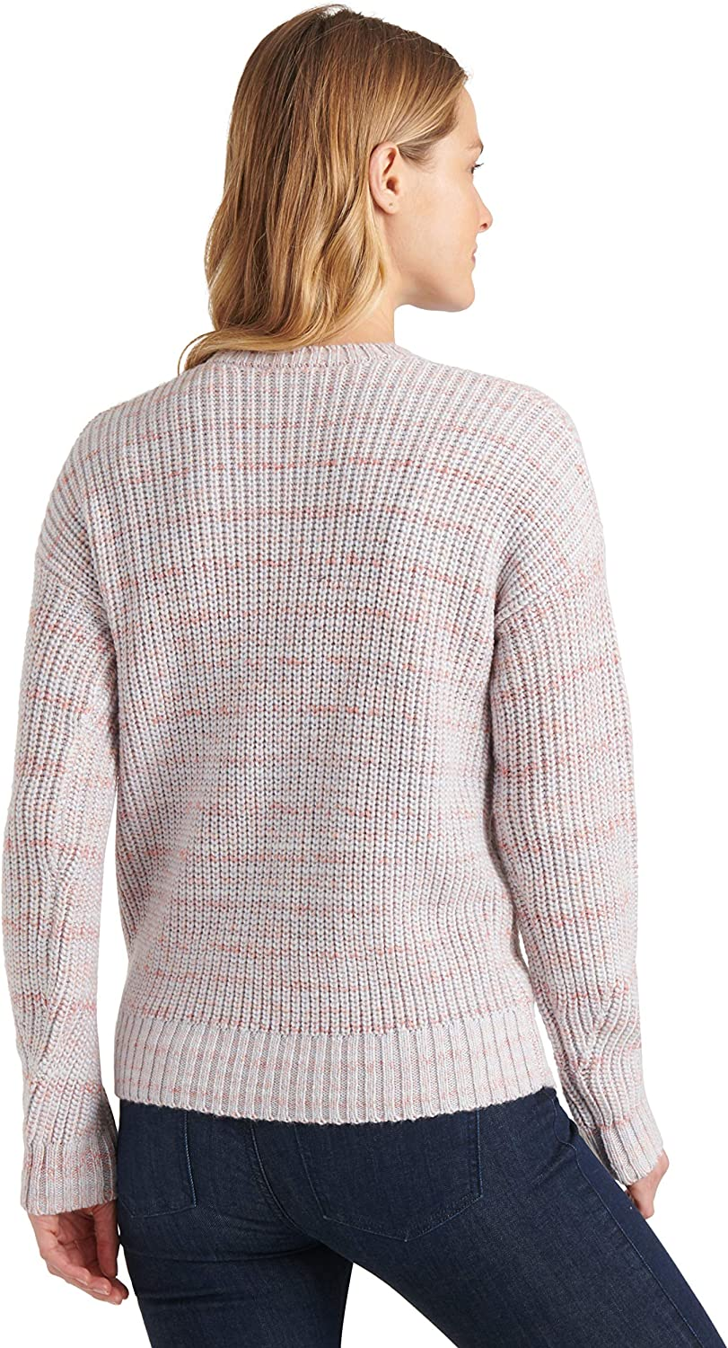 Lucky Brand Damen Marled Scoop Neck Sweater Pullover: Amazon
