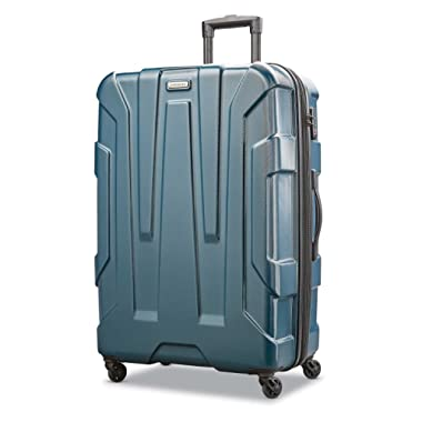 Samsonite Centric Expandable Hardside Checked Luggage with Spinner Wheels, 28 Inch, Teal