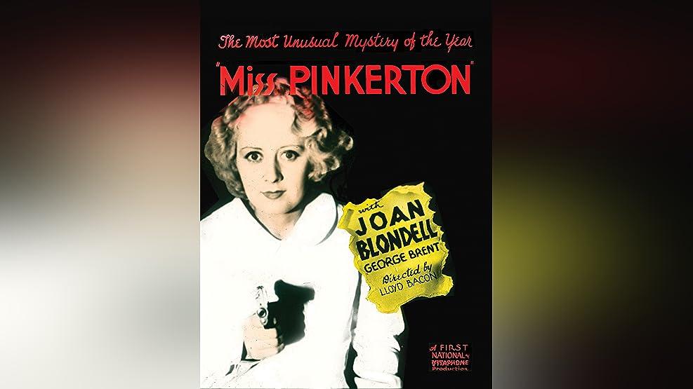 Miss Pinkerton (1932)
