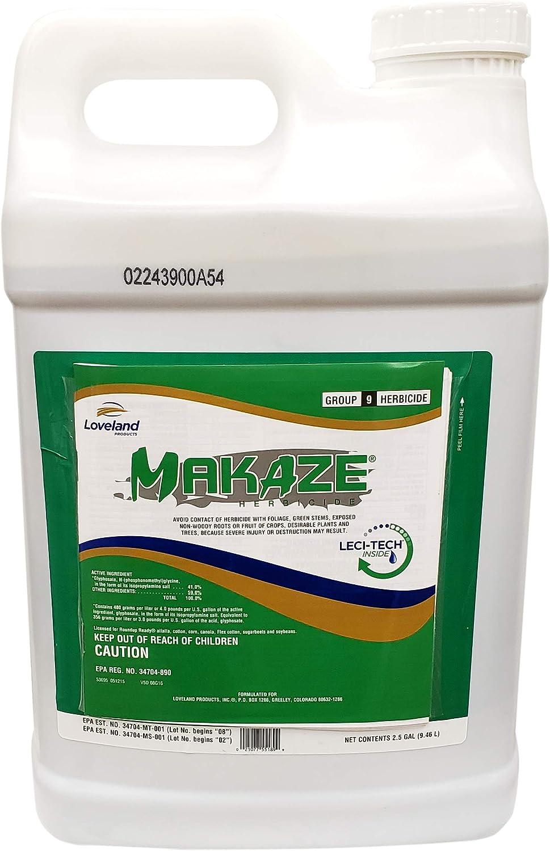 Makaze Herbicide 41% Glyphosate Generic For Dallisgrass