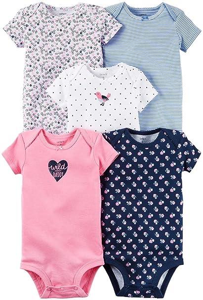 e8ab3eb5e Carters Bebé Niñas Multi-Pack Bodas 126g330