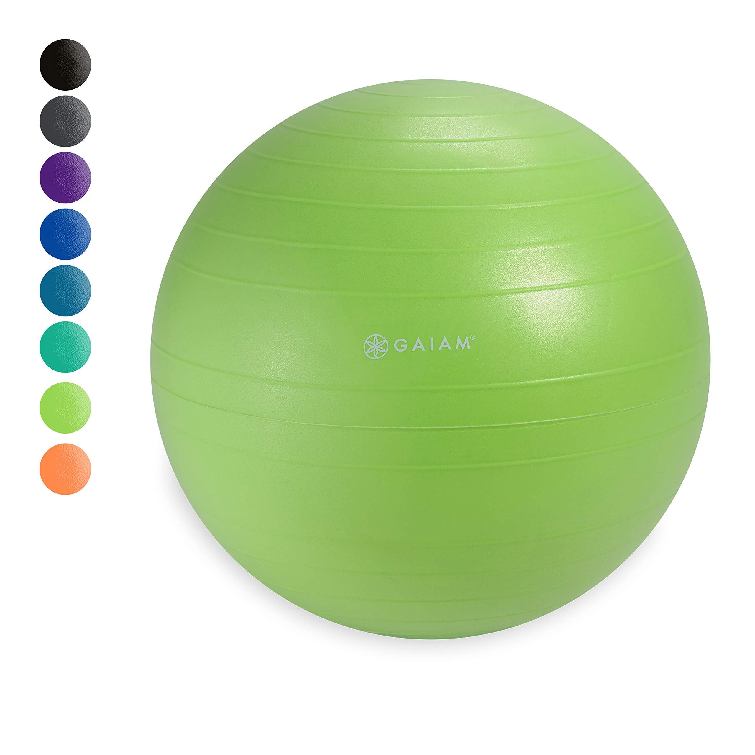Gaiam Classic Balance Ball Chair Ball - Extra 52cm Balance Ball for Classic Balance Ball Chairs, Wasabi