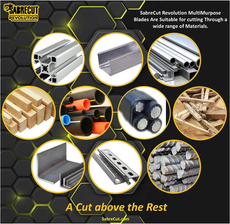 1 x SabreCut SCCSM180/_36 Kreiss/ägeblatt f/ür Bosch Dewalt Makita Milwaukee und viele weitere 180 mm 36T x 30 mm 25,4 mm 20 mm 16 mm Bohrung Multi Material Metall Holz Kunststoff