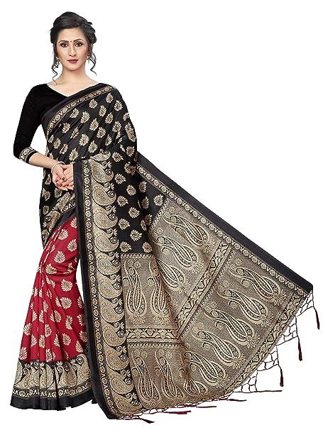 Amazon.com: CRAFTSTRIBE Vestido de tela tradicional indio de ...