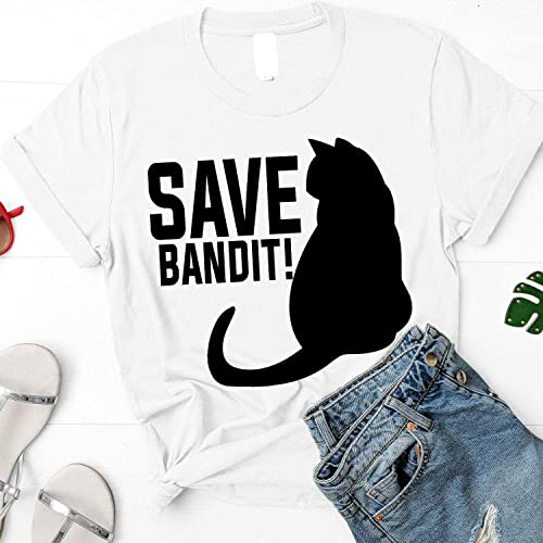 Amazon.com: Save Bandit Shirt Inspired By The Office, Angela ...