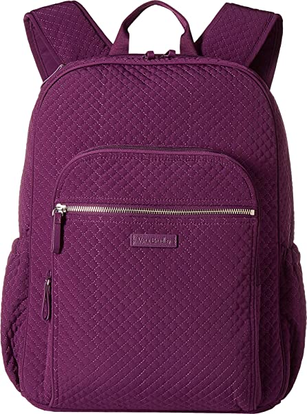d58323d7b44f Vera Bradley Women s Iconic Campus Backpack Gloxinia Purple One Size