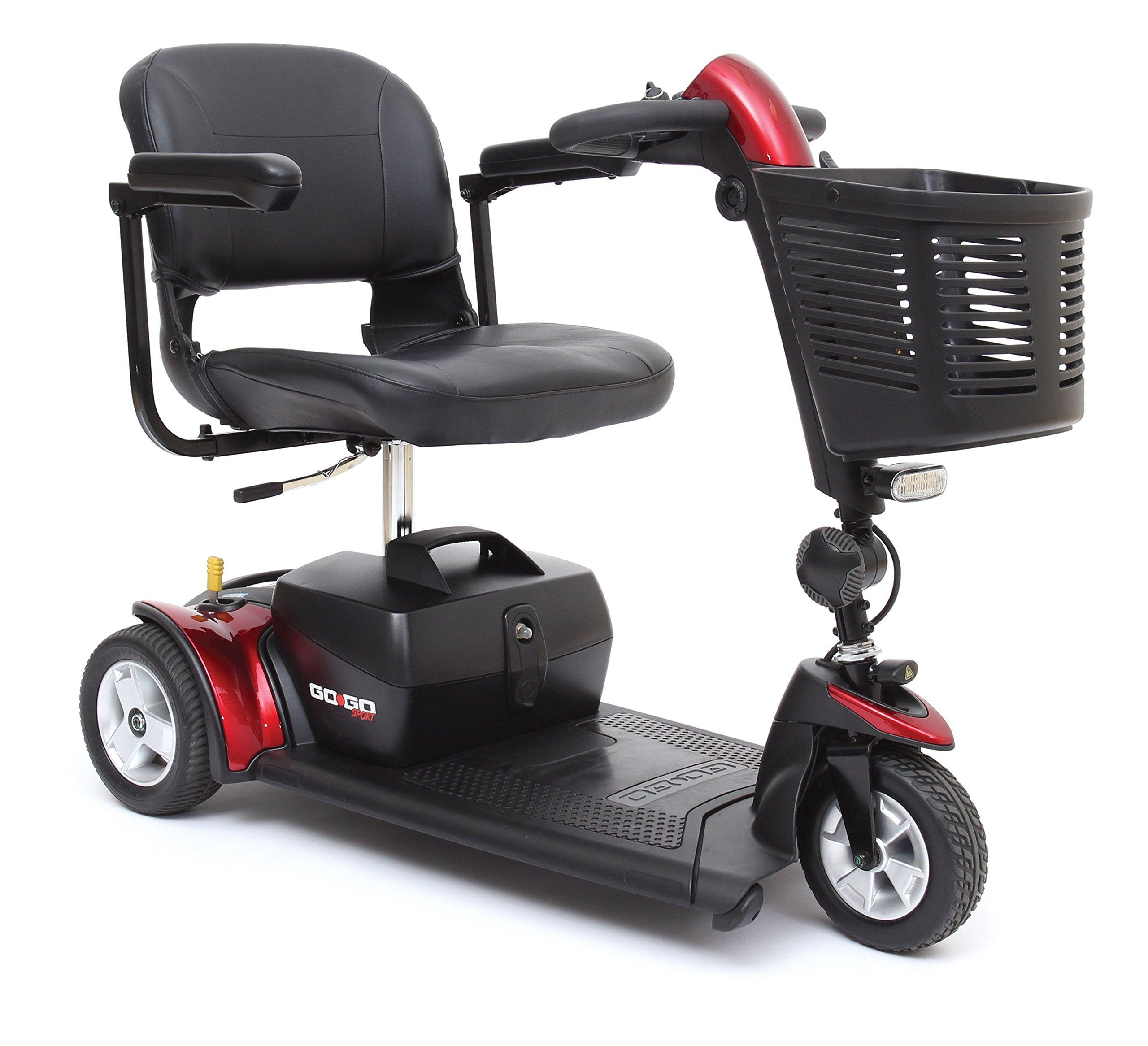 Pride Go-Go Sport 3-Wheel Scooter
