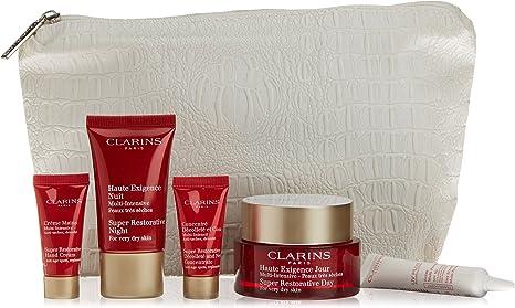 Clarins Crema de Día + Crema de Noche para Pieles Secas + UV Plus Multi-Intensive - 1 Pack: Amazon.es: Belleza