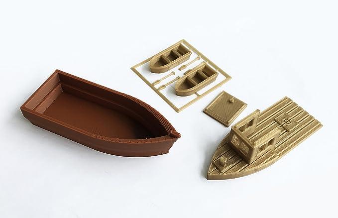 Angler im Boot handbemalt Preiser 28052 H0 1 Figur Neu