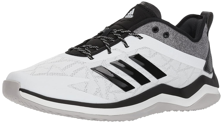 adidas Men's Speed Trainer 4 Baseball Shoe B077X4SP76 17 D(M) US Crystal White/Black/Carbon