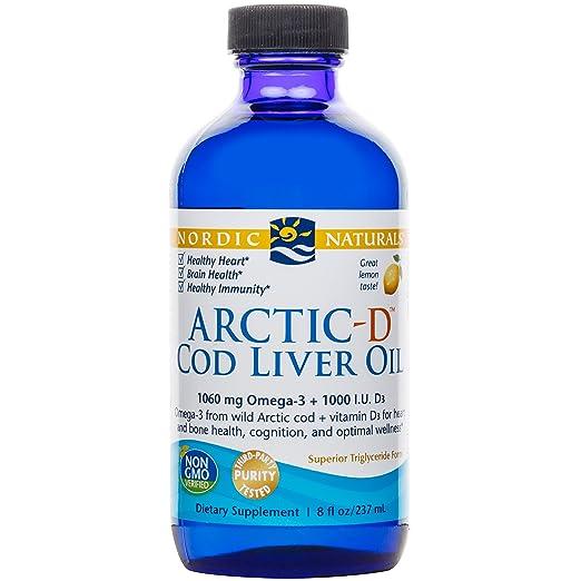 Amazon.com: Nordic Naturals - Arctic-D CLO, Heart And Brain Health ...