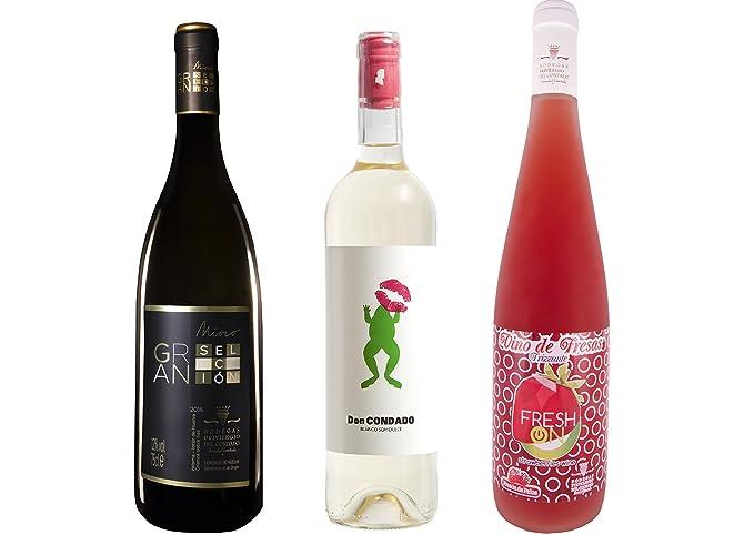 632a8d07825cf Pack 3 botellas - 1 Botella Vino Blanco Mioro Gran Selección