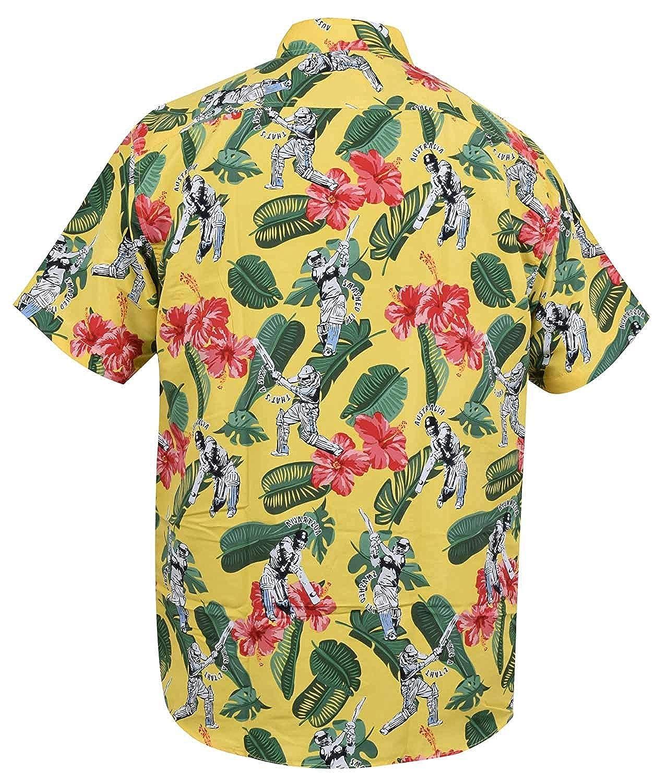 True Face Hombre Cara Hawaiana Playa Flimingo montaña Primavera Camisetas
