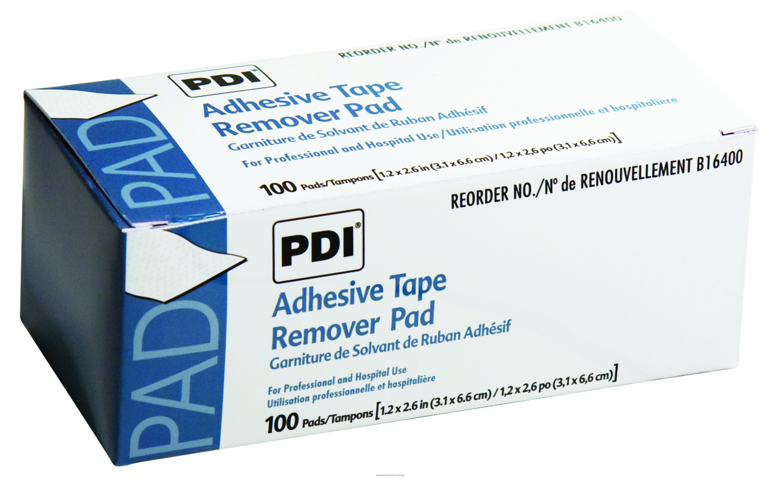Adhesive Tape Remover Pads, Adh Tape Remvr Pad, (1 CASE, 1000 EACH)