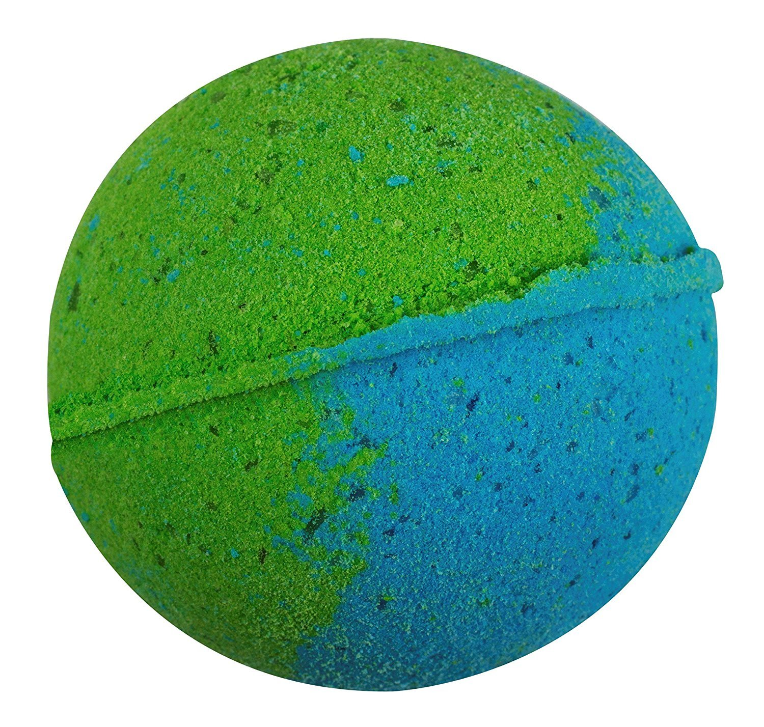 Sense Sation Blue Lavender & Palma Rosa Bath Bomb USA Handmade Ultra Lush Spa Bath Fizzies 4.5 oz. Organic Essential Oil, Fizzy & Colorful, Aromatherapy & Moisturizing, Vegan & Gluten Free Gift Idea