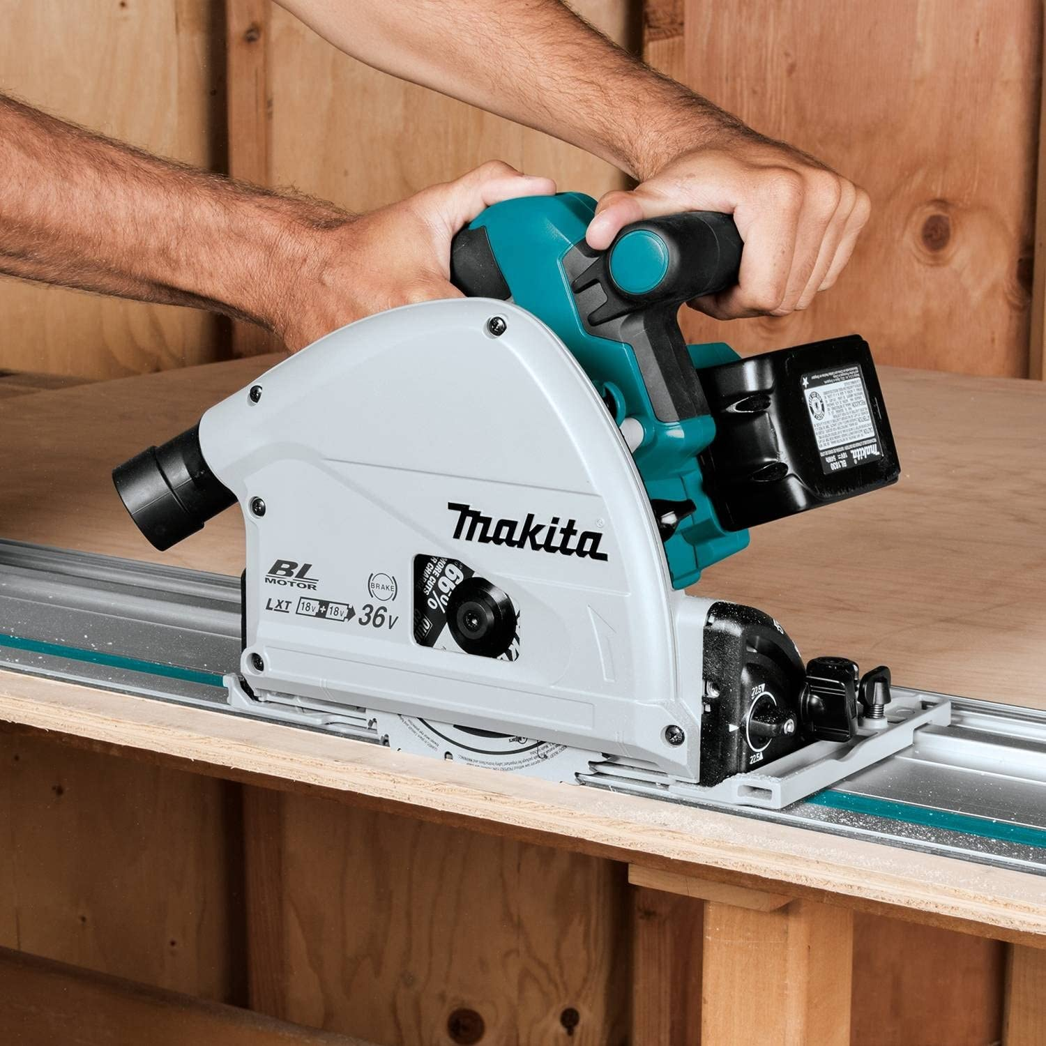 Makita XPS01PTJ : How to Use a Track Saw