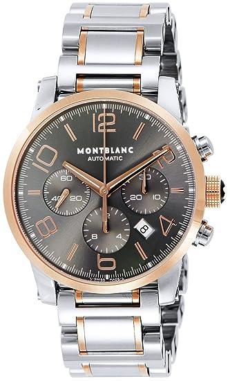 Montblanc Reloj de hombre automático 43mm correa y caja de acero 107321