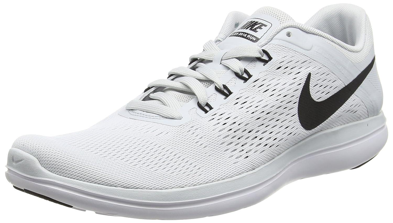 NIKE Men's Flex 2014 RN Running Shoe B0147W23Y2 13 D(M) US|Pure Platinum/White/Black