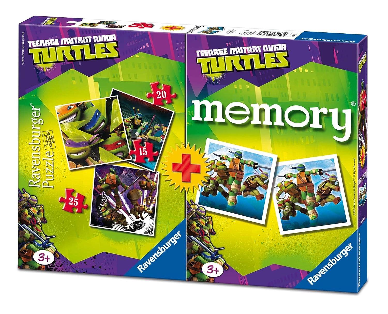 TORTUGAS NINJA - Multipack Memory + 3 Puzzle (Ravensburger ...