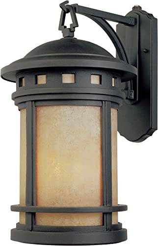 Designers Fountain ES2371-AM-ORB Energy Star Sedona 7 Wall Lantern, Oil Rubbed Bronze